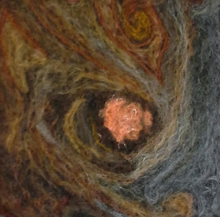 A Storm on Jupiter, Felting, Penny Bamford