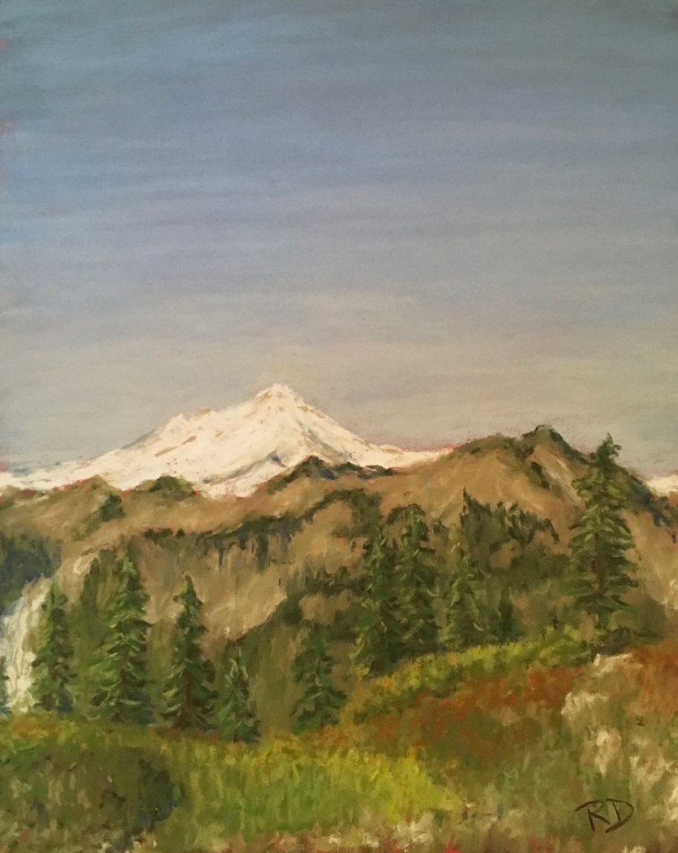 Artist Point, Pastel, Robbie Drabek