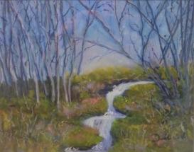 Danila Van Veen, Little Creek, Pastel