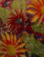 Gwen Callahan, Watercolor Batik