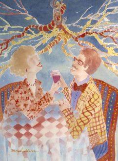 Beryl Adams, Watercolor