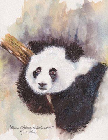 Karen Peter, Watercolor