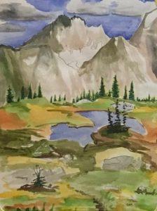 Carol McMillan, Watercolor