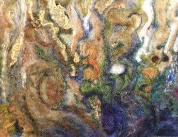 Penny Bamford, Jupiter Southern Clouds, Needlefelting