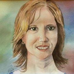 Alice Healy, Elizabeth, Watercolor