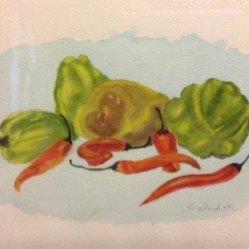 Danila Van Veen, Simply Organic, Watercolor