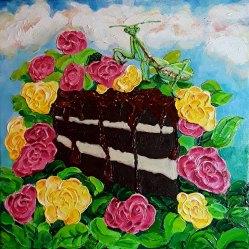 Sarah Lane, Let Her Eat Cake, Gel Medium
