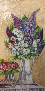 Gwen Callahan, Relaxation, Watercolor Batik
