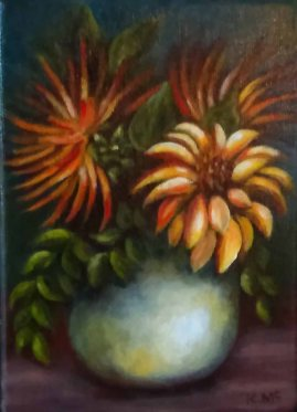 Karen McCormick, Late Summer Blooms