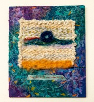 Lee Langdon, Fabric Collage, And The World Was Richer