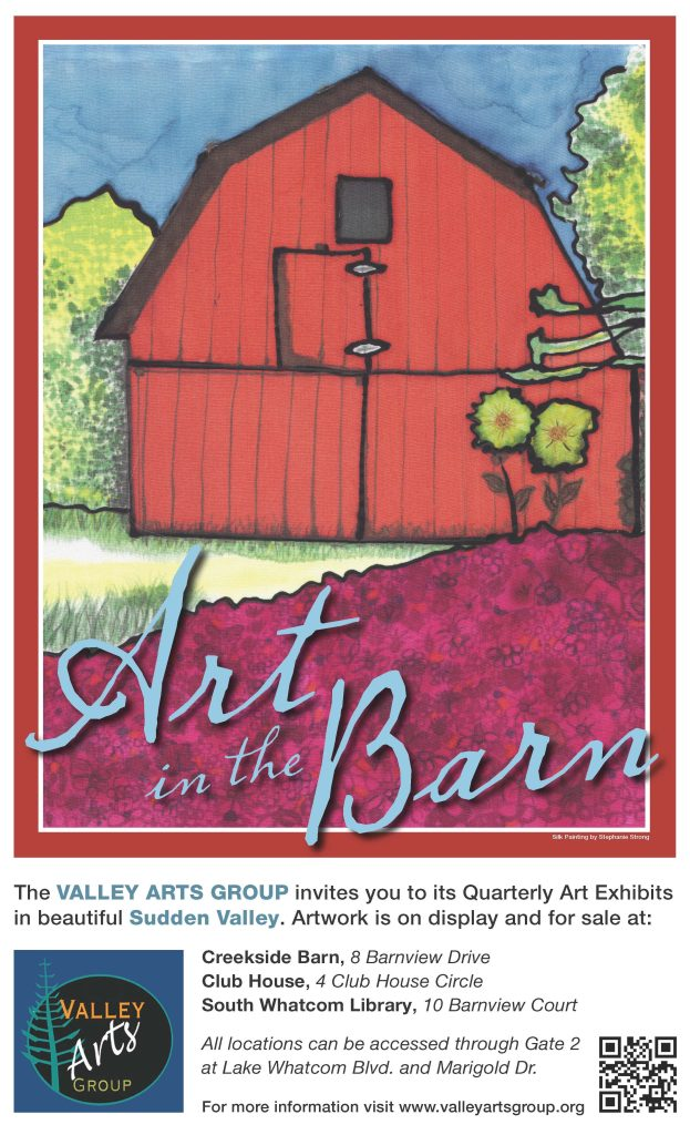 Art in the Barn Poster