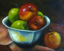 Karen McCormick, Apple Delight, Oil