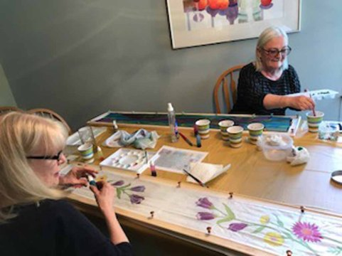 Silk Painting Workshops 1