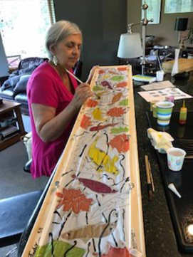 Silk Painting Workshops 2