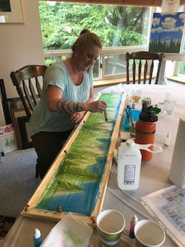 Silk Painting Workshops 6