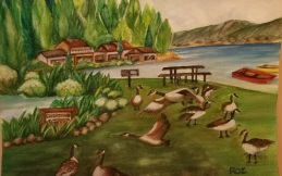 canada-geese-roz-claffey-watercolor